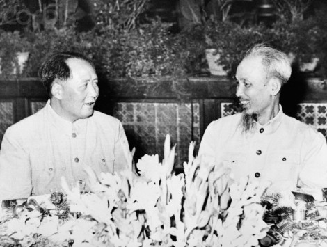 Ho Chi Minh and Mao Zedong
